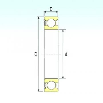 ISB 6032-Z deep groove ball bearings