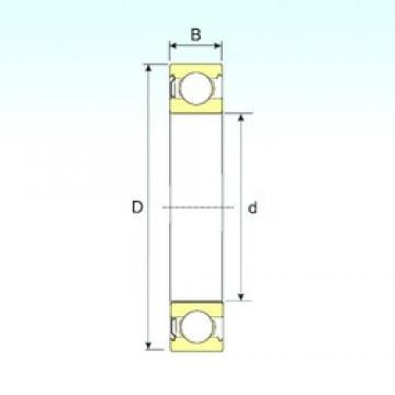 ISB 626-Z deep groove ball bearings