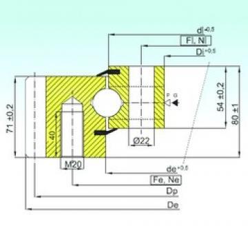 ISB EB1.25.1155.200-1STPN thrust ball bearings
