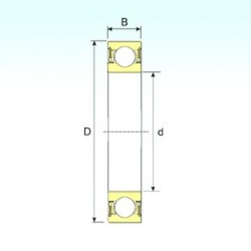 ISB 6006-2RZ deep groove ball bearings