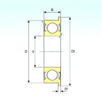 ISB MF62ZZ deep groove ball bearings