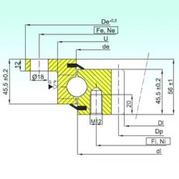 ISB ZBL.20.0544.200-1SPTN thrust ball bearings