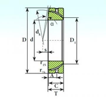 ISB GAC 50 S plain bearings