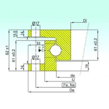 ISB NK.22.0500.100-1PPN thrust ball bearings