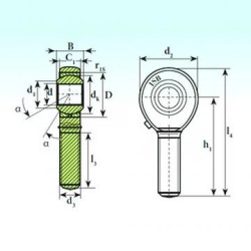 ISB TSM 14 plain bearings