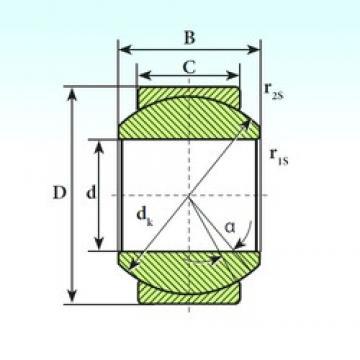 ISB GE 30 SP plain bearings