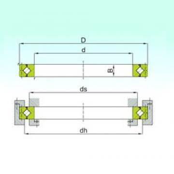 ISB CRBC 30040 thrust roller bearings