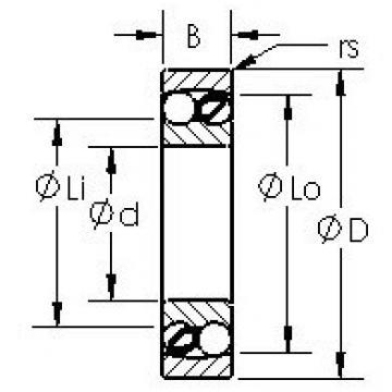 AST 2203 self aligning ball bearings