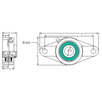 AST UCFL 211 bearing units