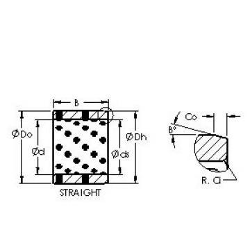 AST AST650 182416 plain bearings