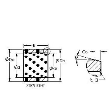 AST AST650 708550 plain bearings