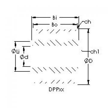 AST DPP10 deep groove ball bearings