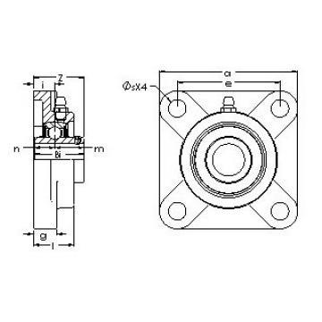 AST UCF 211-35E bearing units