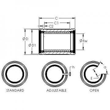 AST LBE 25 AJ linear bearings