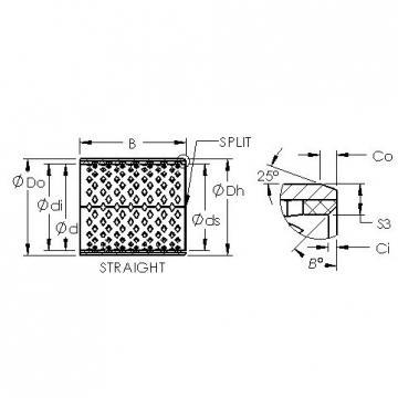 AST AST090 2525 plain bearings