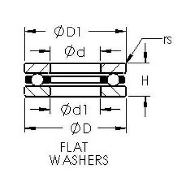 AST F2X-7 thrust ball bearings