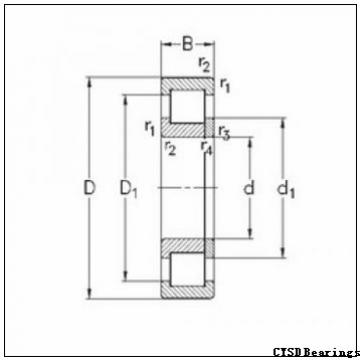 CYSD N207E cylindrical roller bearings