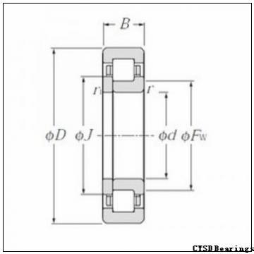 CYSD NN3019K/W33 cylindrical roller bearings