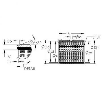 AST AST800 3525 plain bearings