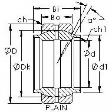 AST GEWZ12ES plain bearings