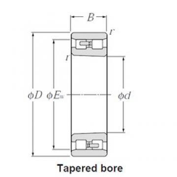 CYSD NN3017K/W33 cylindrical roller bearings