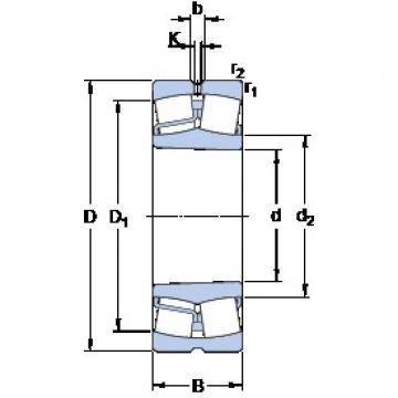 SKF 22320 EK spherical roller bearings