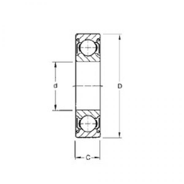 CYSD 6213-ZZ deep groove ball bearings #2 image