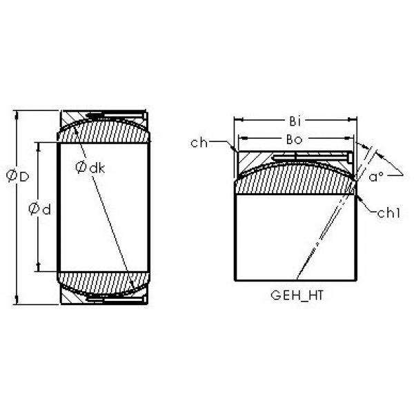 AST GEH530HT plain bearings #2 image