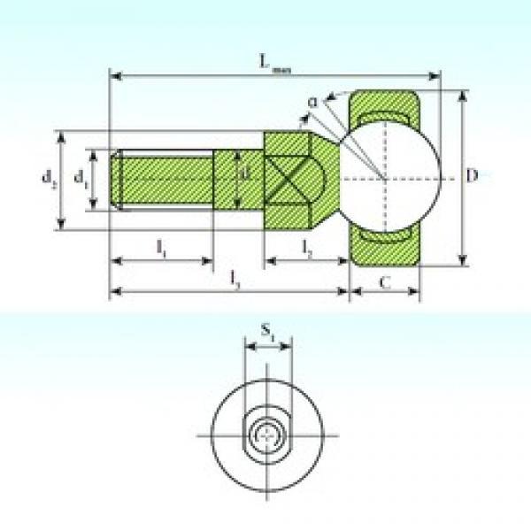 ISB SQD 12 C plain bearings #3 image