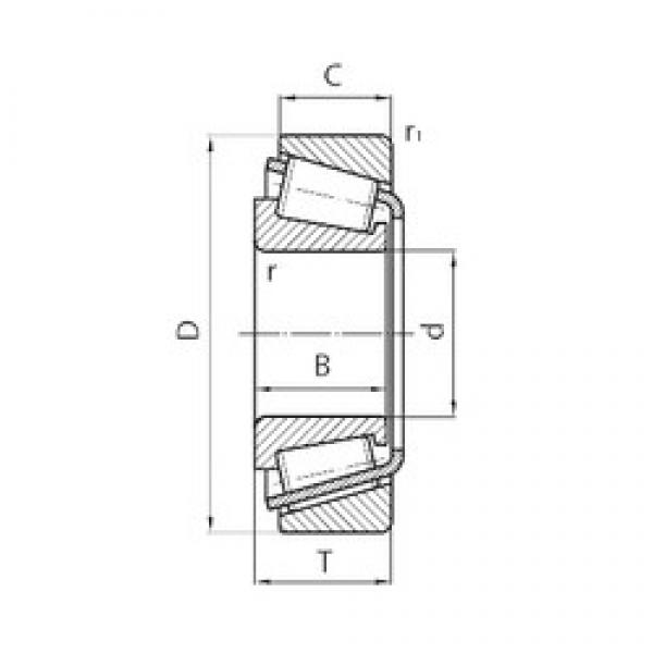 CYSD 33214 tapered roller bearings #2 image