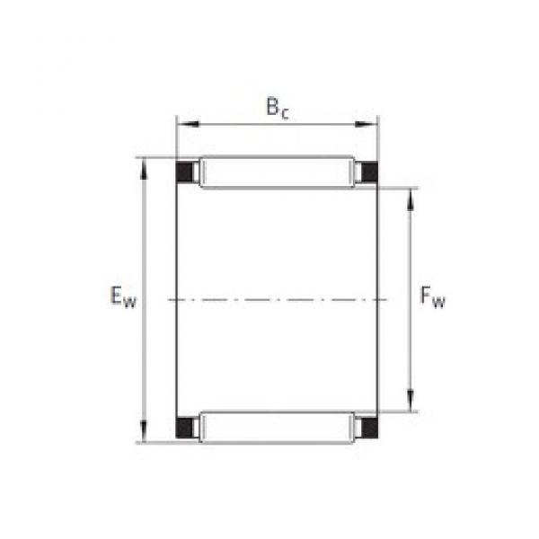 INA K64X70X16 needle roller bearings #3 image