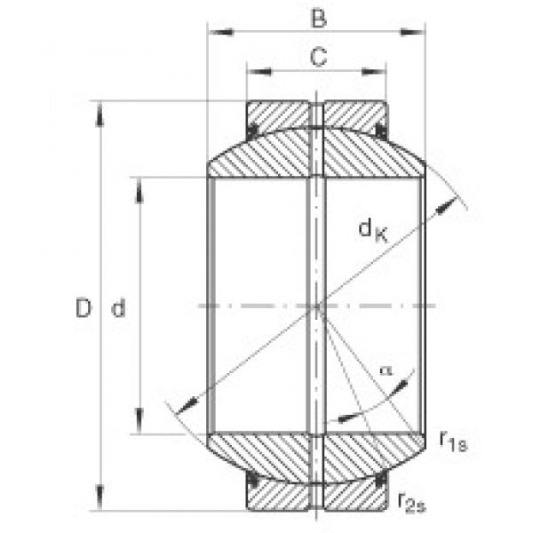 INA GE160-FO-2RS plain bearings #3 image