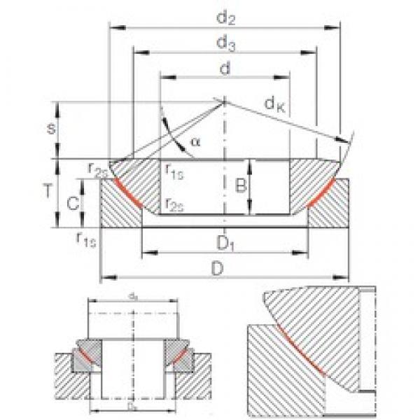 INA GE 320 AW plain bearings #3 image