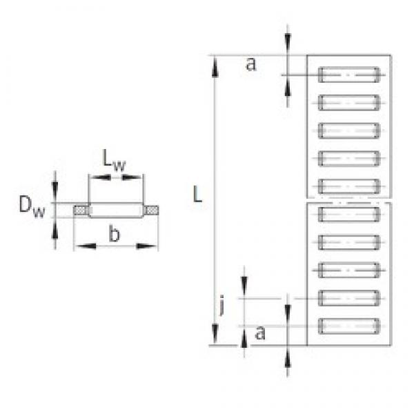 INA BF3020 needle roller bearings #3 image