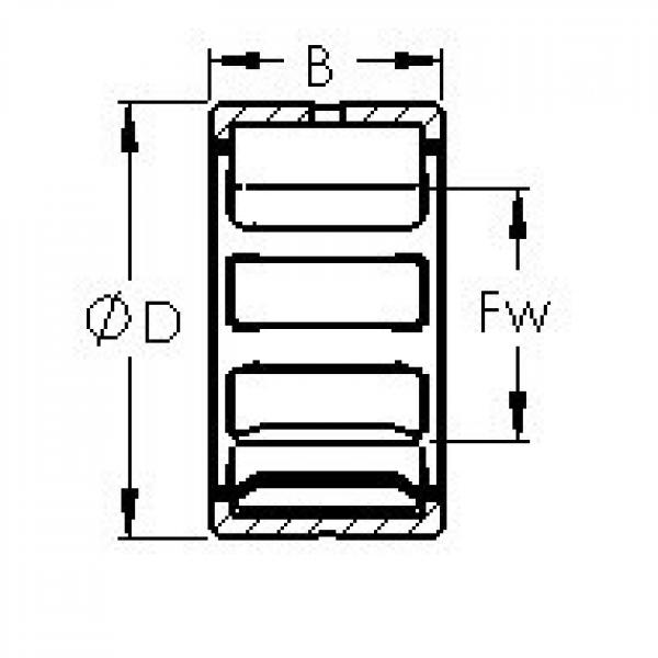 AST RNA4924 needle roller bearings #2 image