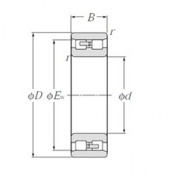 CYSD NN3012/W33 cylindrical roller bearings #2 image