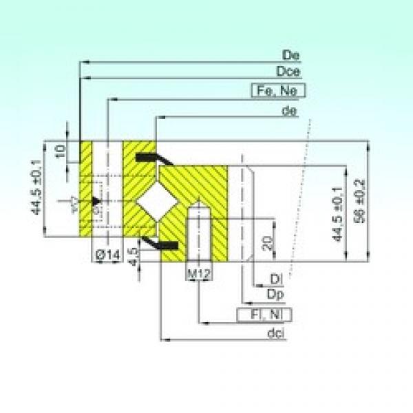 ISB ZR1.14.0844.200-1SPTN thrust roller bearings #3 image