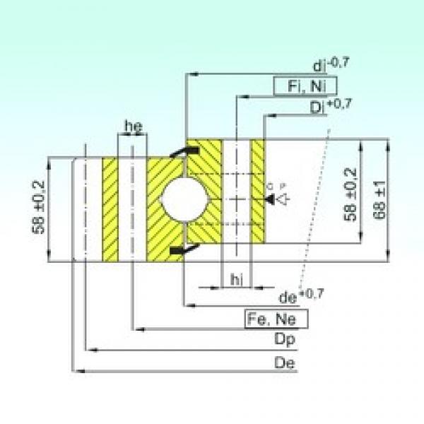 ISB EB1.25.1314.400-1SPPN thrust ball bearings #3 image