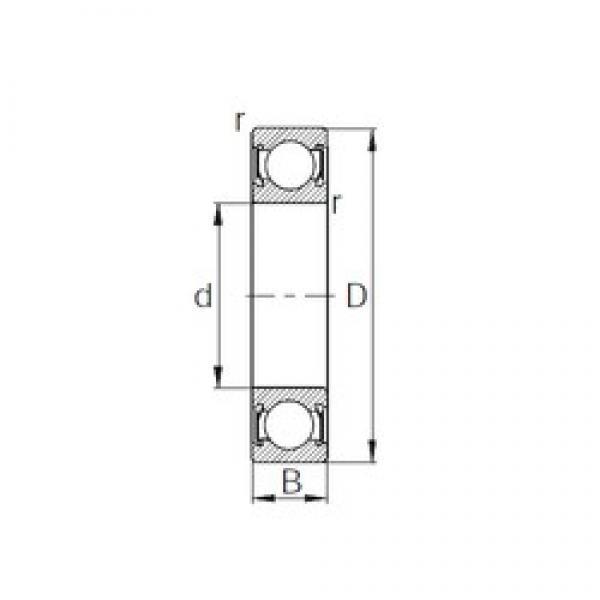 CYSD 6230-2RS deep groove ball bearings #2 image