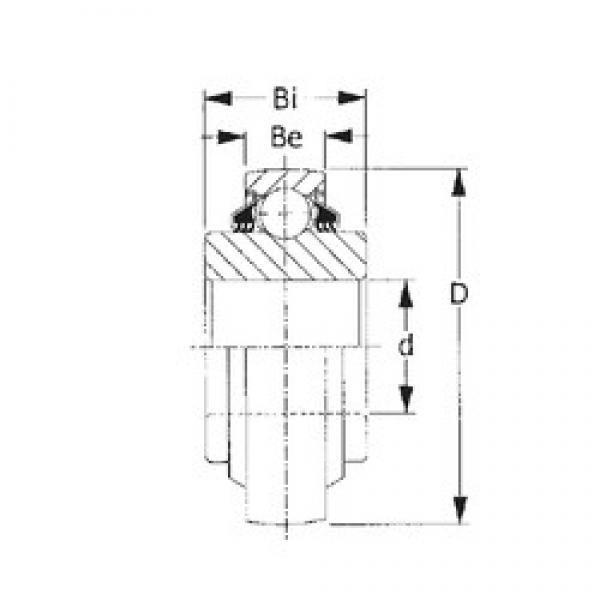 CYSD W208PPB7 deep groove ball bearings #2 image