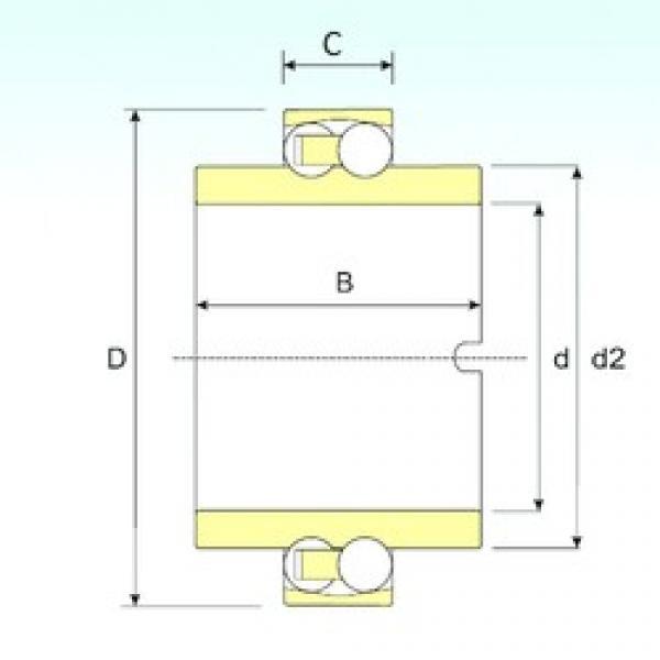 ISB 11209 TN9 self aligning ball bearings #3 image