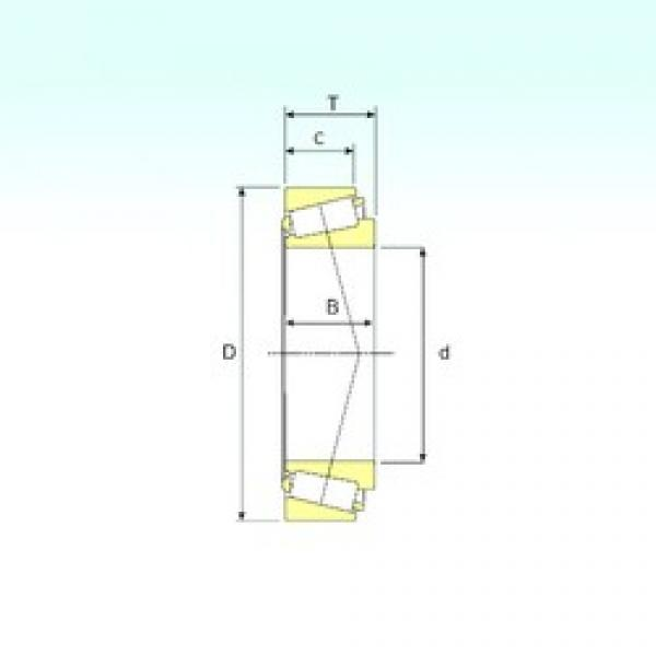 ISB 32934 tapered roller bearings #3 image