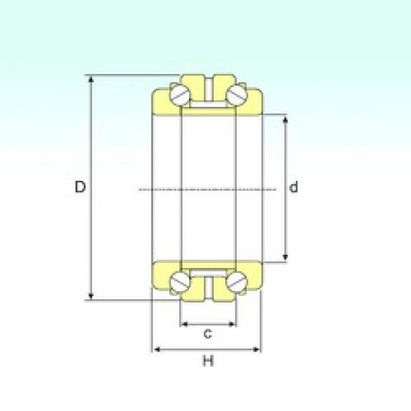 ISB 234421 thrust ball bearings #3 image