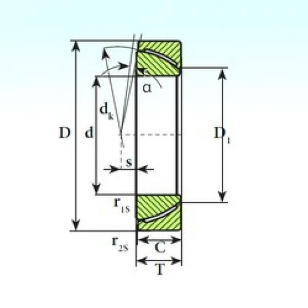 ISB GAC 32 CP plain bearings #3 image