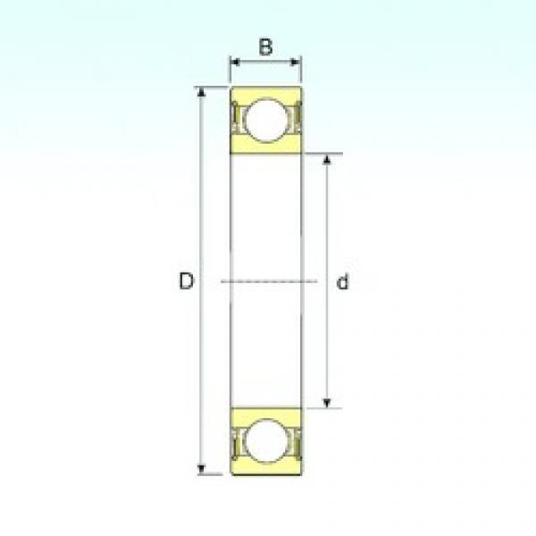 ISB 627-2RS deep groove ball bearings #3 image