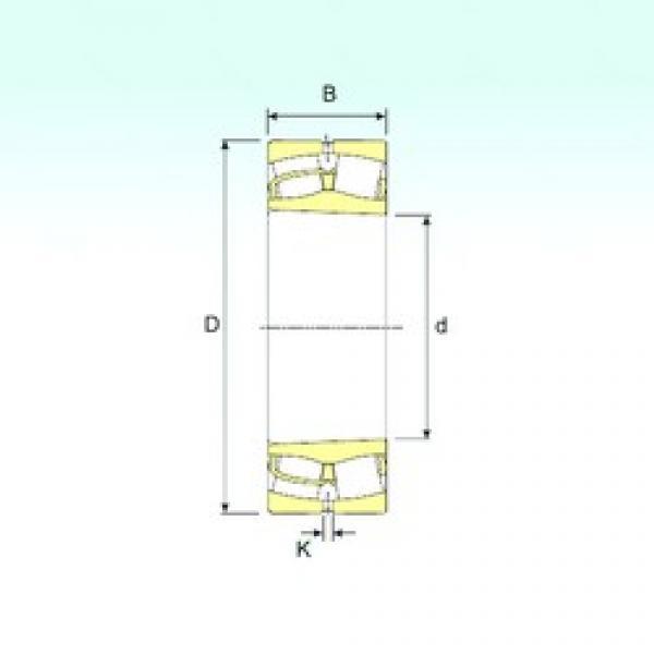 ISB 23060 K spherical roller bearings #3 image