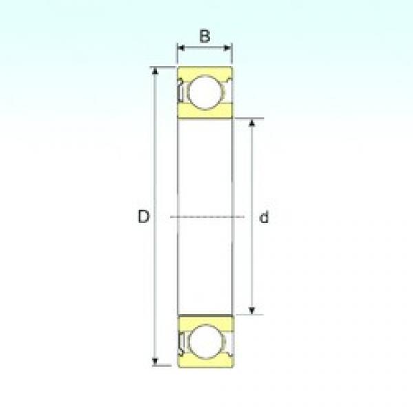 ISB 6201-Z deep groove ball bearings #3 image