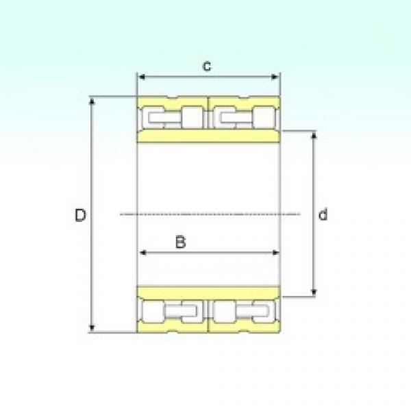 ISB FC 3248124 cylindrical roller bearings #3 image