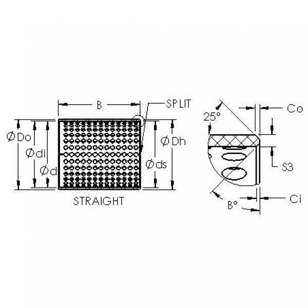 AST ASTT90 28060 plain bearings #2 image