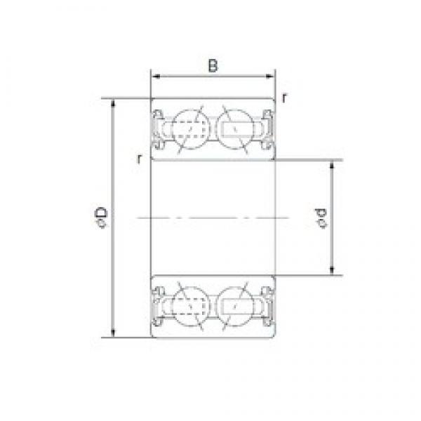CYSD 46/38-1AC2RS angular contact ball bearings #2 image
